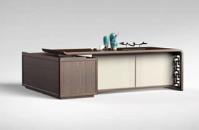 新中式办公桌0401