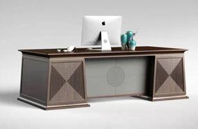 新中式办公桌0701
