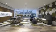 雅风办公家具展厅一楼茶水区展示