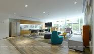 雅风办公家具一楼茶水区展示厅