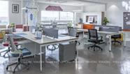 [雅风办公家具展厅]四楼员工办公桌