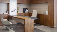 [雅风办公家具展厅]四楼实木油漆办公桌