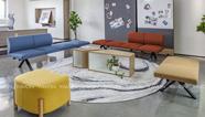 [雅风办公家具展厅]四楼乐高休闲沙发