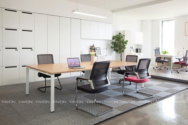 [雅风办公家具展厅]四楼现代简约会议桌