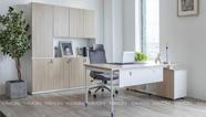 [雅风办公家具展厅]四楼沃格经理办公桌
