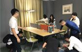 雅风办公家具团队风采新品发布