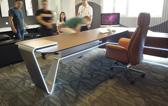 雅风家具办公系统设计交流会 追光系列