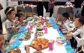 团队风采儿童节活动现场