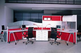 屏风办公桌A45