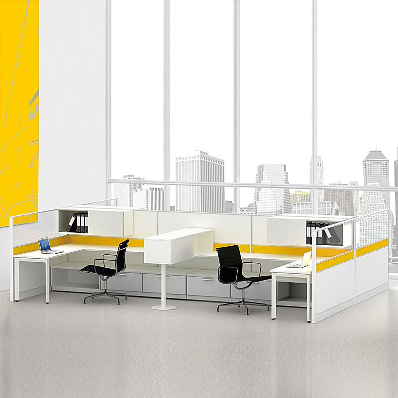 屏风办公桌F2