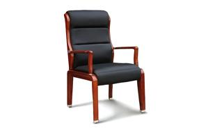 雅风木制会议椅 实木皮椅501