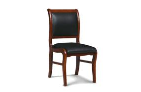 实木会议椅皮椅501