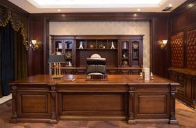 实木油漆办公桌