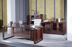 实木办公油漆桌