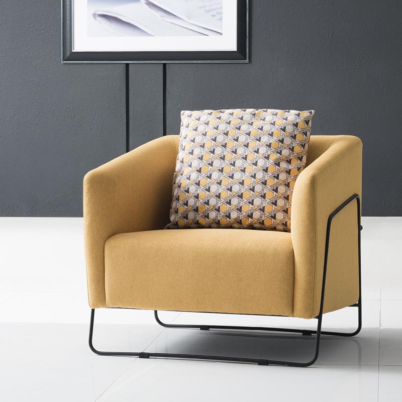 工业风办公沙发 布艺沙发S81