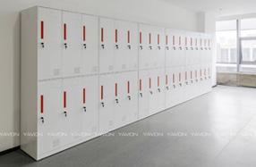 钢制衣柜六门柜