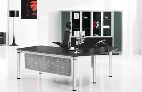 伯格定制主管油漆办公桌