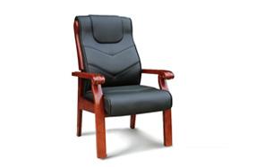 实木油漆会议椅010