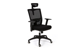 网布电脑办公椅 雅风比亚